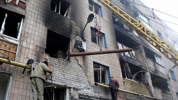 Brüchige Waffenruhe in der Ostukraine