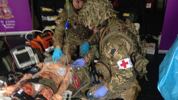 Kriegschirurgie - grausames, aber wichtiges Handwerk