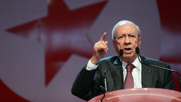 Erste demokratische Präsidentschaftswahl in Tunesien