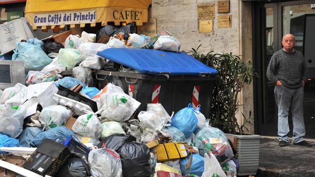 Müll-Strafen: EuGH verurteilt Italien und Griechenland