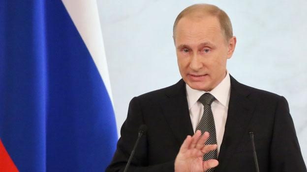 Putin weicht nicht von Ukraine-Politik ab