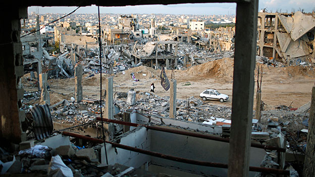 Gazas Bevölkerung - allein gelassen in Kriegsruinen