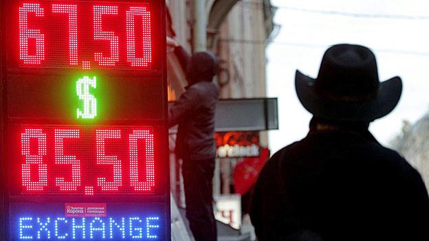 Der Zerfall des Rubels und die russische Wirtschaft