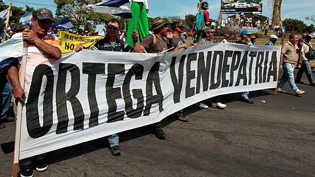 Spatenstich für den Nicaragua-Kanal