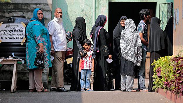 Sri Lanka entscheidet über seine Zukunft