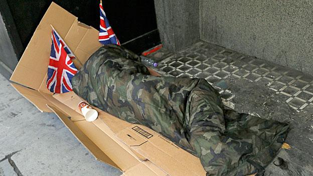 Wachsende Kluft zwischen Arm und Reich in Grossbritannien