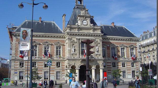 Spannungen im 19. Arrondissement in Paris