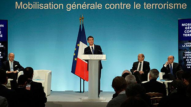 Frankreich macht mobil gegen den Terror