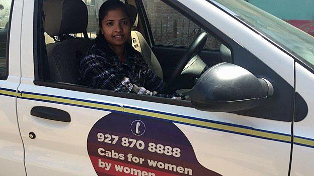 Indien - Frauen fahren Frauen