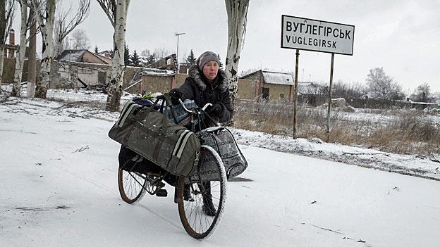 Fern vom normalen Alltag - Bevölkerung in der Ostukraine