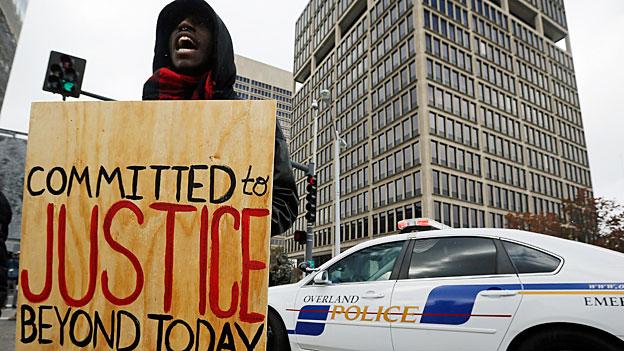 Schwere Rassendiskriminierung in Ferguson, Missouri