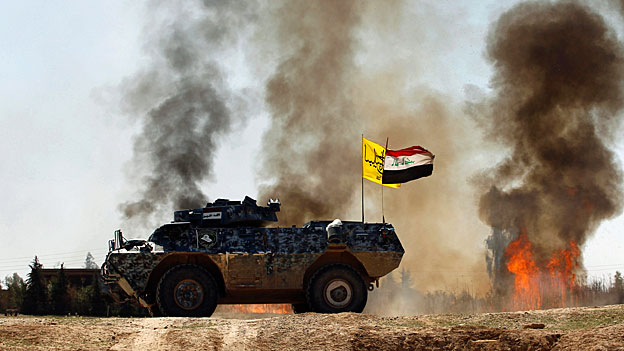 Iran und Irak gegen IS - der Westen schaut zu