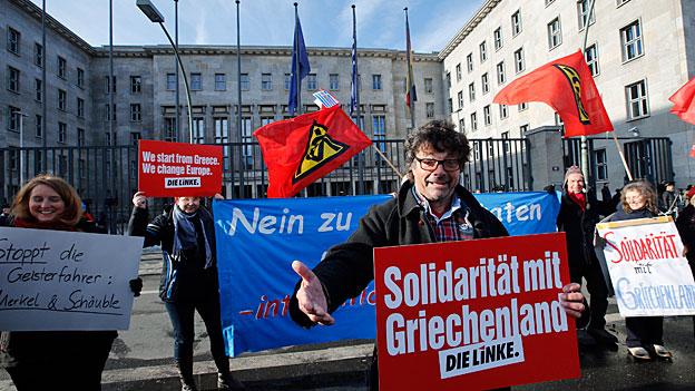 Deutschland-Griechenland - harte Fronten aufweichen