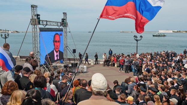 Russische Propaganda III: «Die Krim war immer russisch»