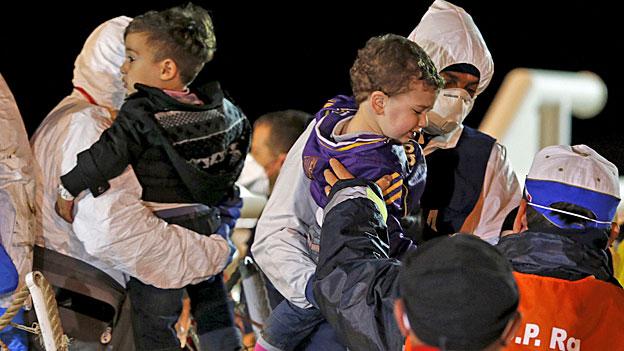 Nach der Flüchtlingstragödie vor der Küste Libyens