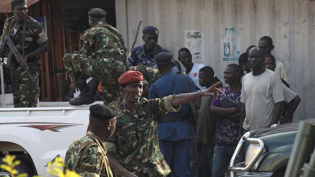 Fragile Lage in Burundi