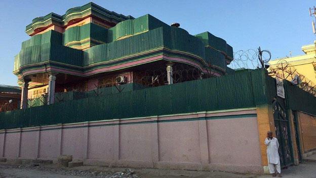 Leere Paläste in Kabul