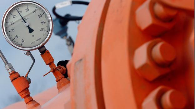 Russland baut eine Gaspipeline nach Griechenland