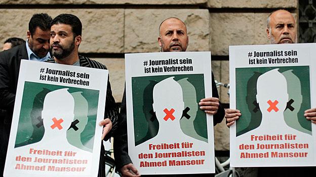 Ahmed Mansour wird freigelassen