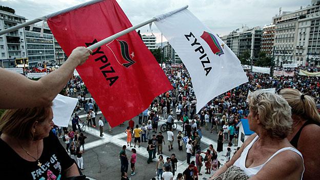 Die Gratwanderung der griechischen Regierung