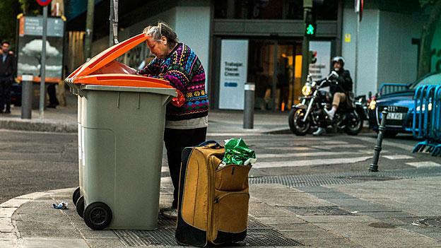 Armut - auch in Spanien ein Tabuthema