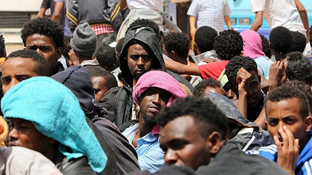 Libyen - auf der Suche nach Hilfe im Kampf gegen Schlepper