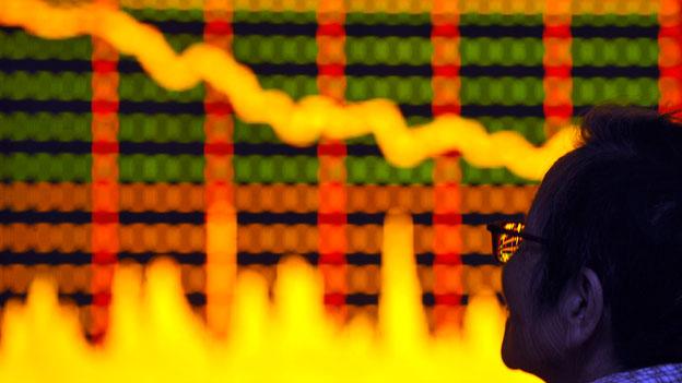 Börse in Shanghai weiter im Sinkflug