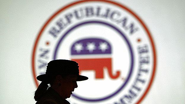 USA - republikanische Präsidentschaftskandidaten stehen Schlange