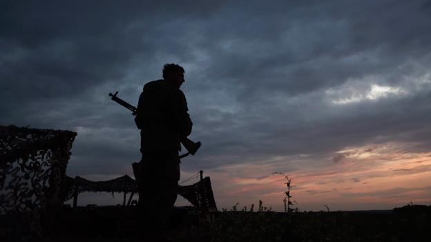 Gefrorener Konflikt in der Ostukraine