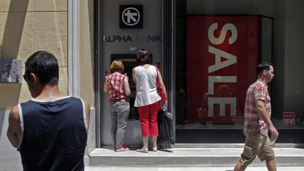 Banken in Griechenland öffnen wieder: «Von Normalität keine Spur»
