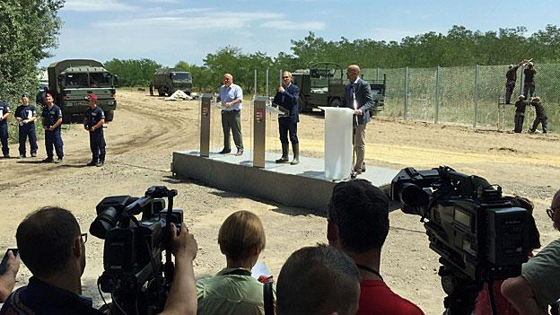 175 Kilometer Zaun - Ungarn will keine Flüchtlinge