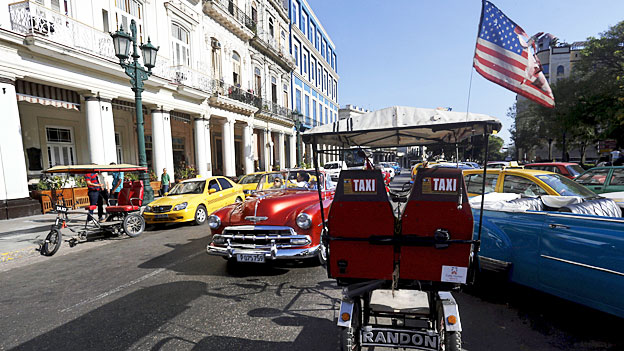 In Havanna weht wieder das Sternenbanner