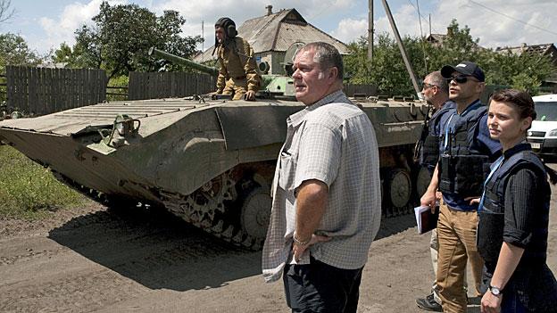 Ostukraine - Vereinbarung über weiteren Waffenabzug
