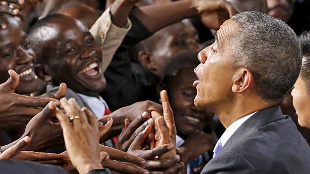 Obamas Appell für einen gesellschaftlichen Wandel in Kenia