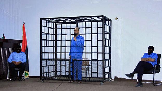 Todesurteil für Gaddafi-Sohn Saif al-Islam