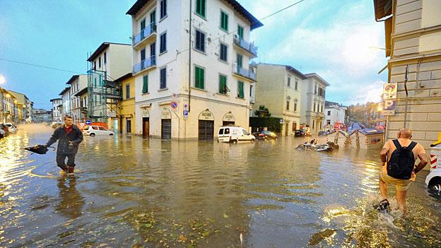 Nach den Überschwemmungen in Florenz