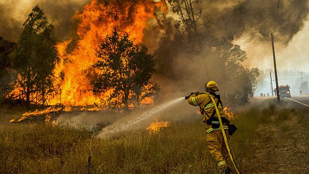 Waldbrände in Kalifornien geraten ausser Kontrolle
