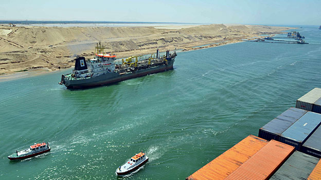 Neuer Suezkanal - der Westen hofiert Ägyptens Machthaber