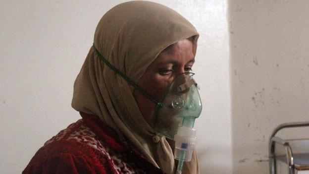Uno-Resolution zu Giftgaseinsatz in Syrien