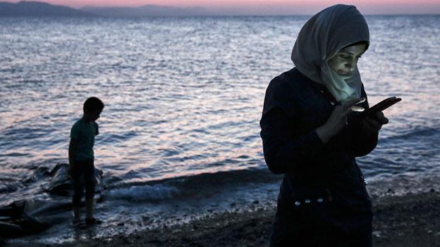 Flüchtlinge - ein Smartphone kann Leben retten