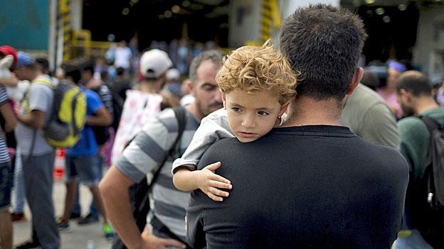 Athen - vom Flüchtlingsdrama überfordert