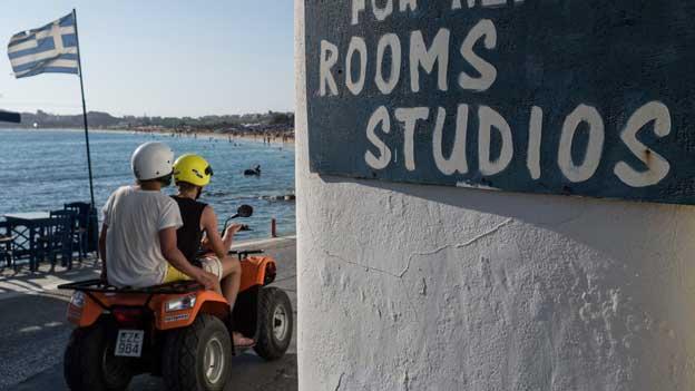 Der griechische Tourismus wächst