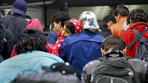 Umverteilung von 120'000 Flüchtlingen in Europa