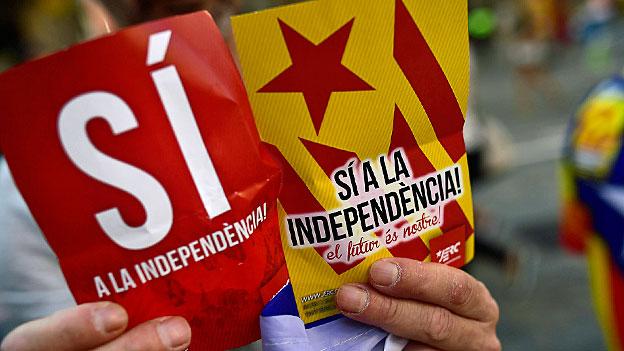 Unabhängiges Katalonien liegt noch in der Ferne