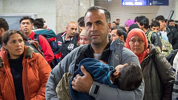 Deutsche Flüchtlingspolitik im Herbst
