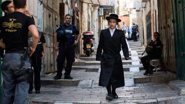 Die Altstadt von Jerusalem wird zum Sperrgebiet