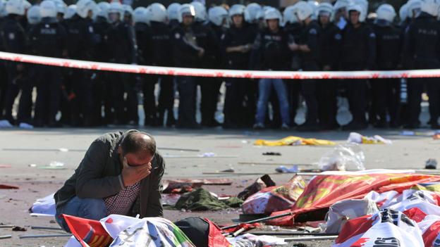 Tödliche Anschläge in Ankara