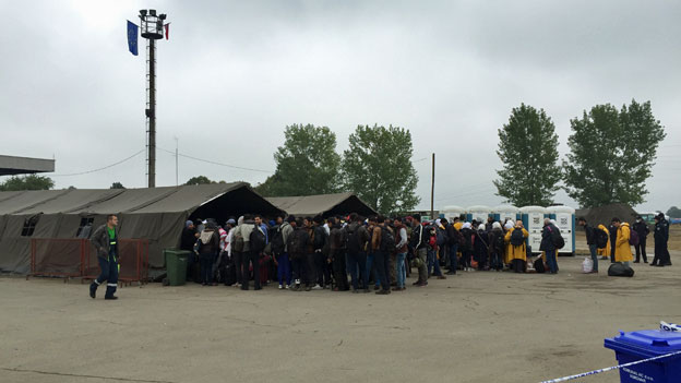 Unbürokratische Hilfe für Flüchtlinge in Kroatien