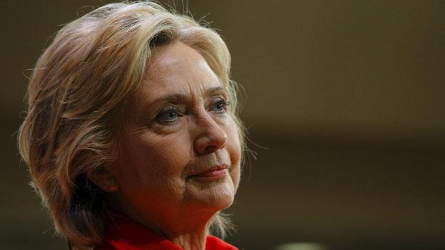 Clintons schwere Hypothek