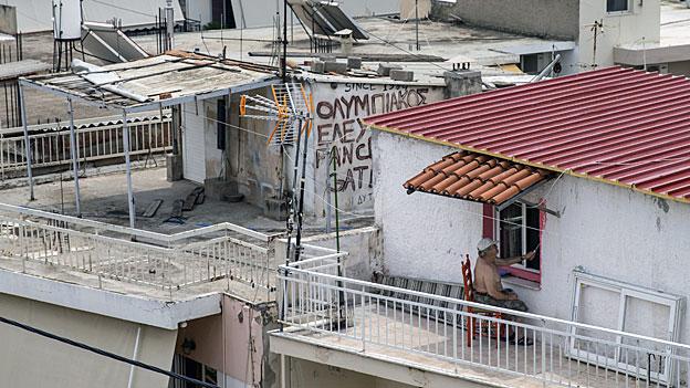 Griechische Hausbesitzer fürchten um ihr Heim